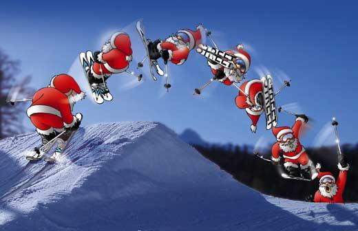 Дядо Коледа - Чудните Скали